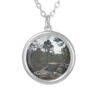 Robers Cave State Park Silver Plated Necklace