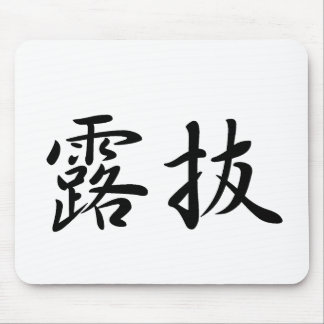 Robert-3 In Japanese is Mouse Pads