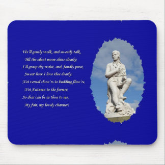 Robert Burns (1759–1796) Poems and Song Mouse Pad
