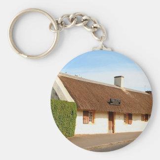 Robert Burns cottage, Alloway, Scotland Keychain