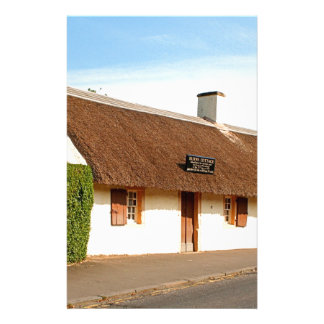 Robert Burns cottage, Alloway, Scotland Stationery