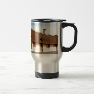 Robert Burns cottage, Alloway, Scotland Travel Mug