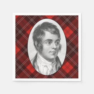 Robert Burns Paper Napkins