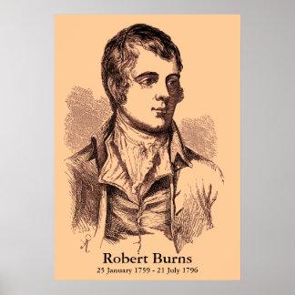 Robert Burns Poster