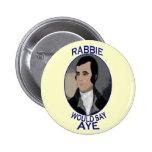 Robert Burns Scottish Independence Button Badge