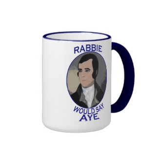 Robert Burns Scottish Independence Mug