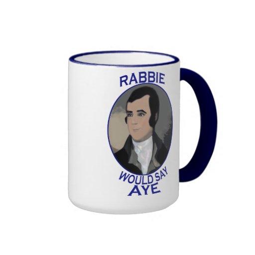 Robert Burns Scottish Independence Mug