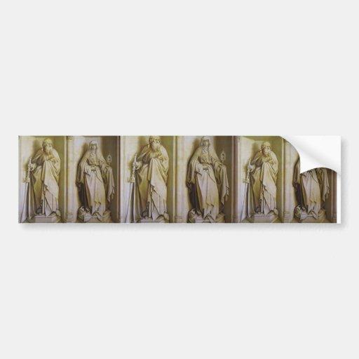 Robert Campin- The Nuptials of the Virgin Bumper Stickers