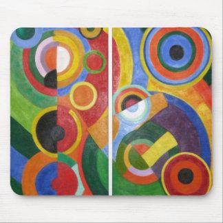 Robert Delaunay abstract art Mouse Pad