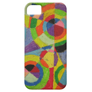 Robert Delaunay Color Explosion iPhone 5 Cover
