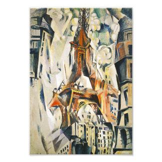 Robert Delaunay Eiffel Tower Canvas Print Photographic Print