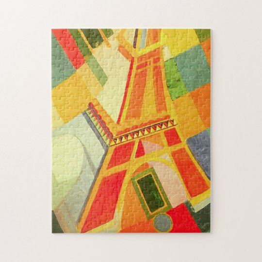 Robert Delaunay Eiffel Tower Puzzle