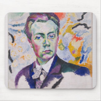 Robert Delaunay Self Portrait Mouse Pad