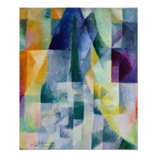 Robert Delaunay Simultaneous Windows Poster