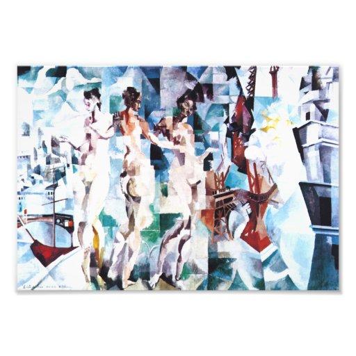 Robert Delaunay The City of Paris Print Art Photo