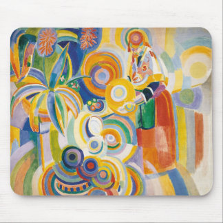 Robert Delaunay - The Great Portuguese Mouse Pad