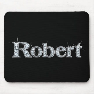 "Robert ""Diamond Bling"" Mousepad"