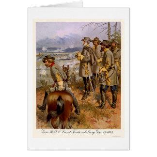 Robert E Lee at Fredericksburg, VA 1862 Card