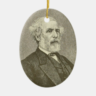 Robert E. Lee Ceramic Ornament