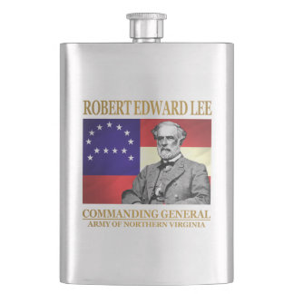 Robert E Lee (Commanding General) Hip Flask