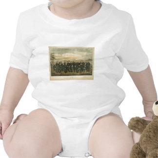 Robert E. Lee & his Civil War Confederate Generals Baby Creeper