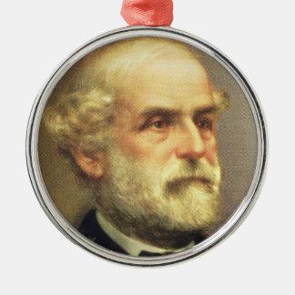 Robert E. Lee Metal Ornament