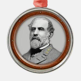 Robert E.Lee Metal Ornament