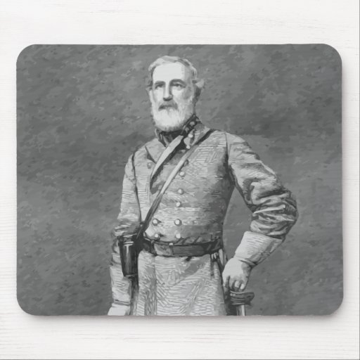 Robert E. Lee Sketch Mouse Pads
