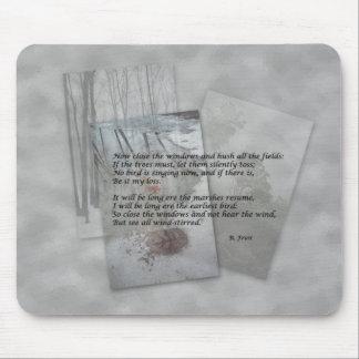 Robert Frost poetry Mousepads