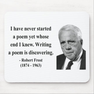 Robert Frost Quote 3b Mouse Pad