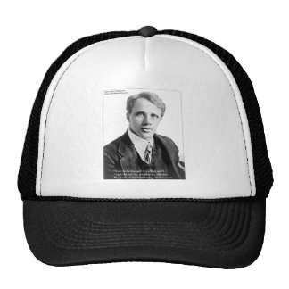 """Robert Frost """"Road Traveled"""" Quote On Cards & Gift Trucker Hat"""