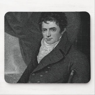 Robert Fulton (1765-1815), engraved by George Park Mousepad