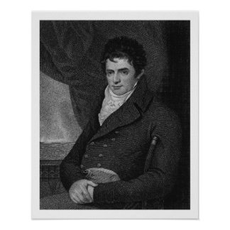 Robert Fulton (1765-1815), engraved by George Park Poster