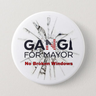 Robert Gangi for Mayor 3 Inch Round Button