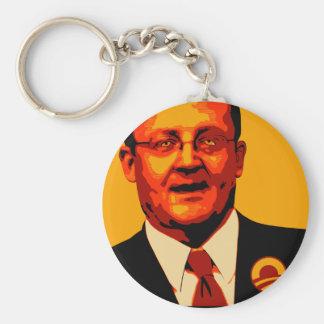 Robert Gibbs Minister of Propaganda Basic Round Button Keychain