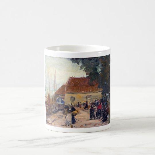 Robert Henri Volendam Street Scene Coffee Mug