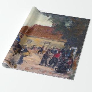 Robert Henri Volendam Street Scene Wrapping Paper