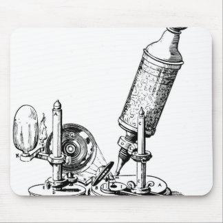 Robert Hooke's Microscope Mouse Pad