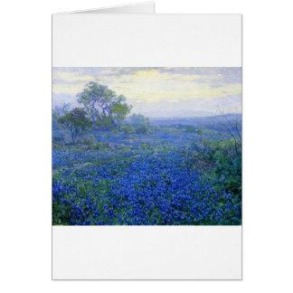 Robert Julian Onderdonk a-cloudy-day-bluebonnets Card