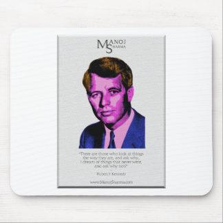 Robert Kennedy - Manoj Sharma Mousepad
