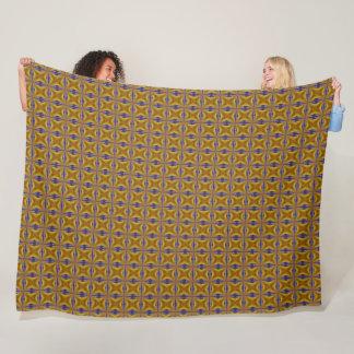 Robert Koch Physics Star Satin Foulard Pattern Fleece Blanket
