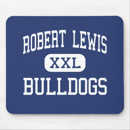 Robert Lewis Bulldogs Middle Natchez Mouse Pad
