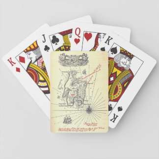 Robert Louis Stevenson's Treasure Island Map Playing Cards