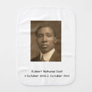 Robert Nathaniel Dett Burp Cloth