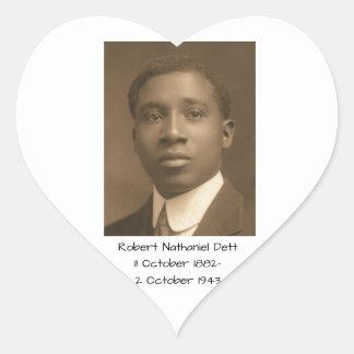 Robert Nathaniel Dett Heart Sticker