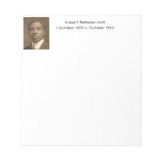 Robert Nathaniel Dett Notepad