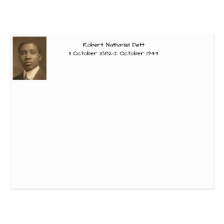 Robert Nathaniel Dett Postcard