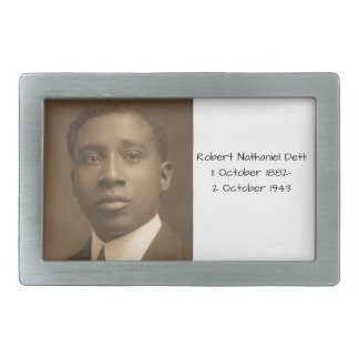 Robert Nathaniel Dett Rectangular Belt Buckles