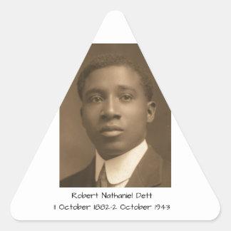 Robert Nathaniel Dett Triangle Sticker
