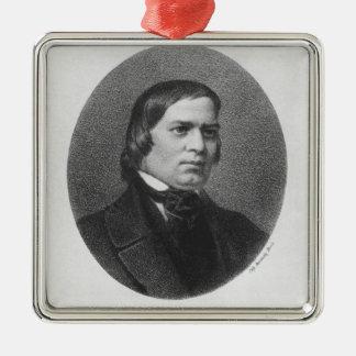 Robert Schumann, 1839 Metal Ornament